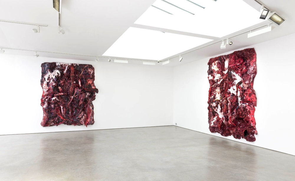Installation view, Anish Kapoor, Lisson Gallery