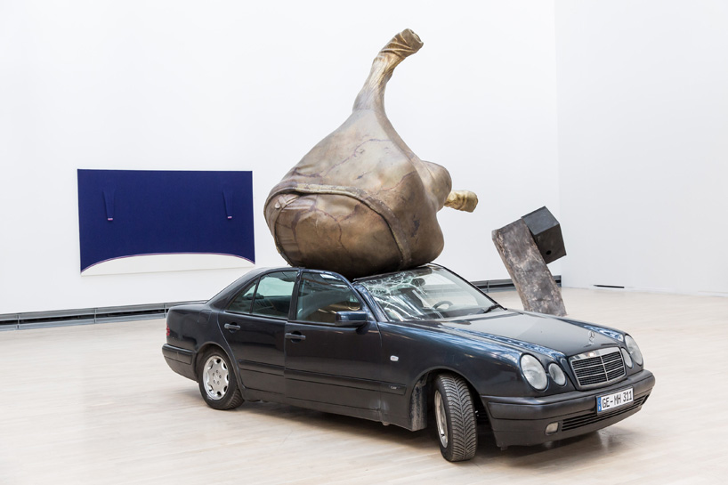 Installation view,  Fichte , Kunstmuseum Wolfsburg