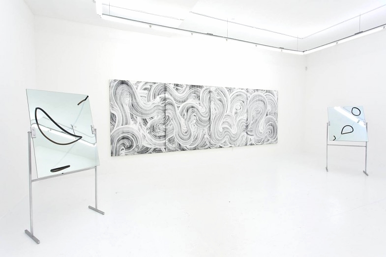 Installation view, Run the Mill, The Hole NYC
