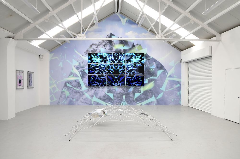 Installation view, Xomia, Ellis King