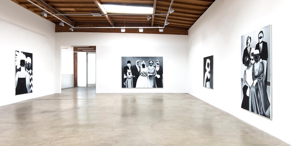 Installation view, Bésame Mucho, Honor Fraser Gallery