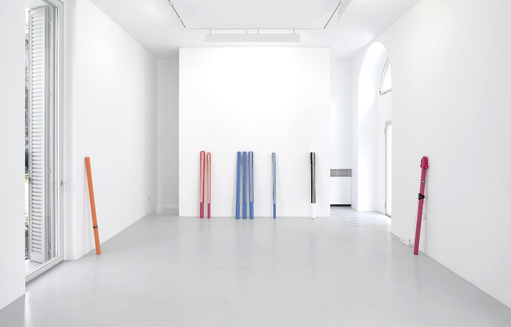 Installation view, Hot Topics, Lisson Gallery