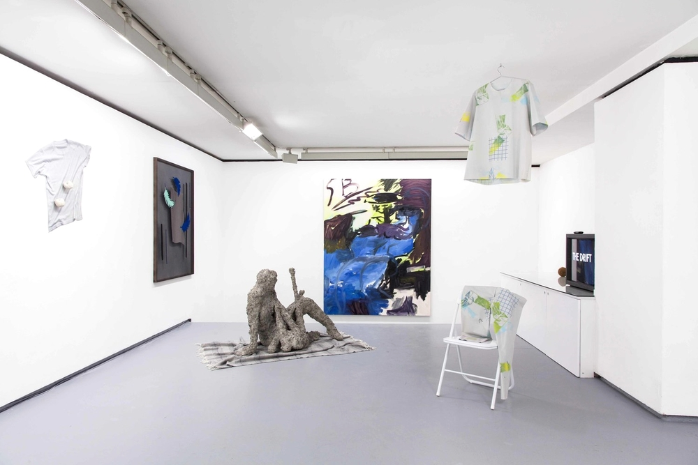 Installation view, You will find me if you want me in the garden, Valentin Paris