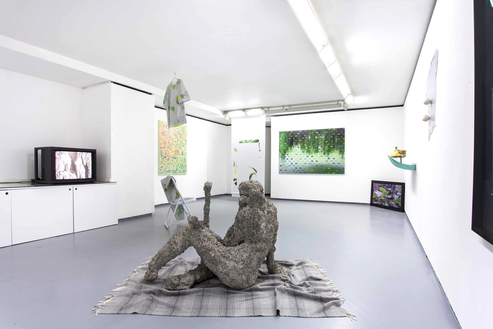 Installation view,You will find me if you want me in the garden, Valentin Paris