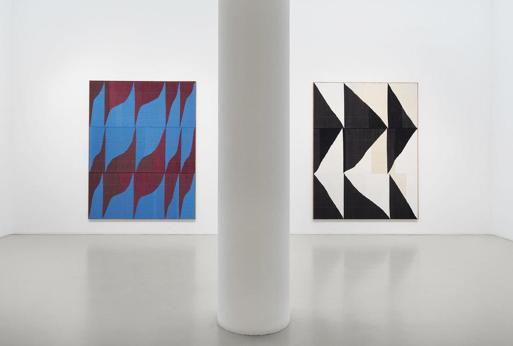 Installation view, Brent Wadden, Mitchell-Innes & Nash