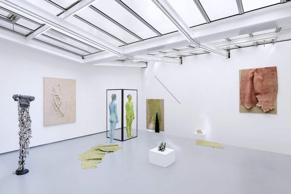 Installation view,  Water Scars , Valentin Paris
