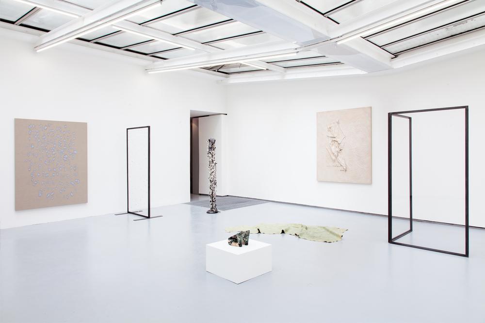 Installation view,Water Scars, Valentin Paris