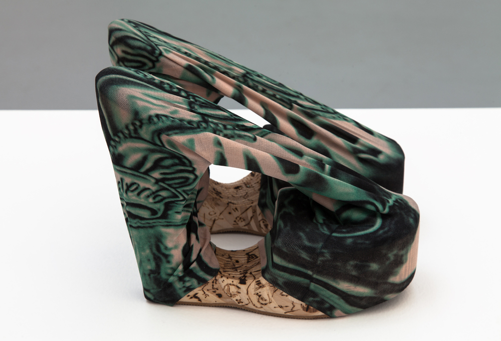 Donna Huanca,  Tattoo Shoes , 2015