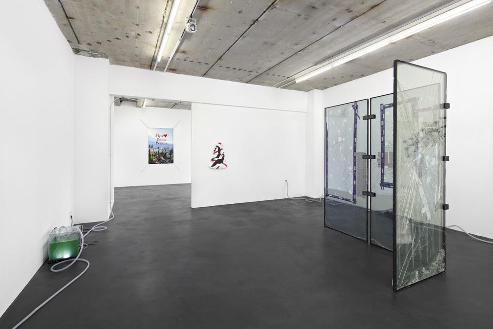 Installation view,Kai❤Dalston/Bushwick, Kraupa-Tuskany Zeidler