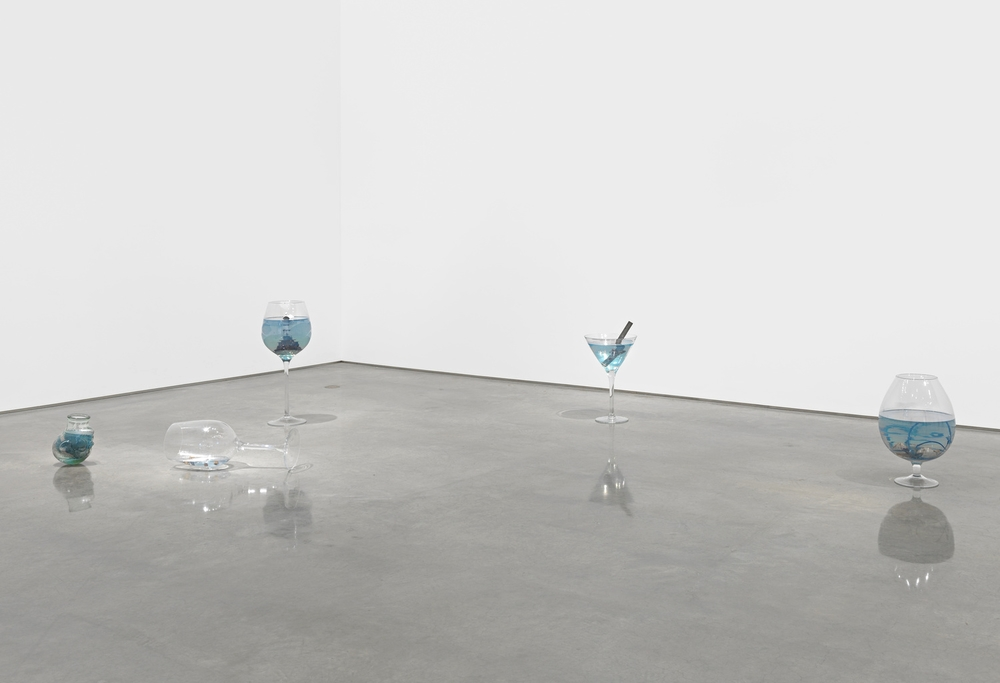 Installation view, Nina Beier, Metro Pictures