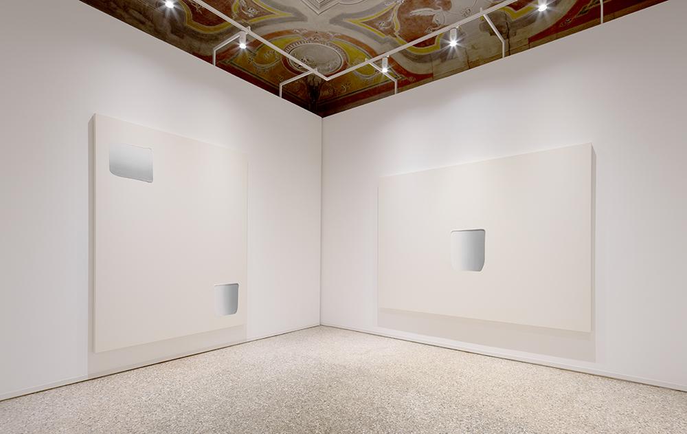 Installation view,Dansaekhwa,La Biennale di Venezia