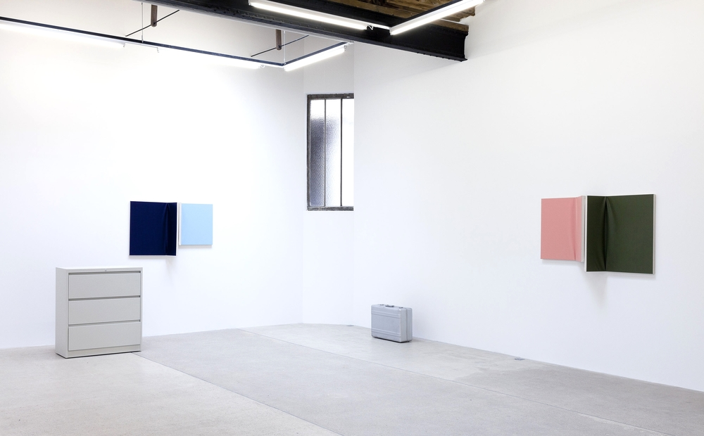 Installation view,   Diffuse Reflection  , Galerie Frank Elbaz