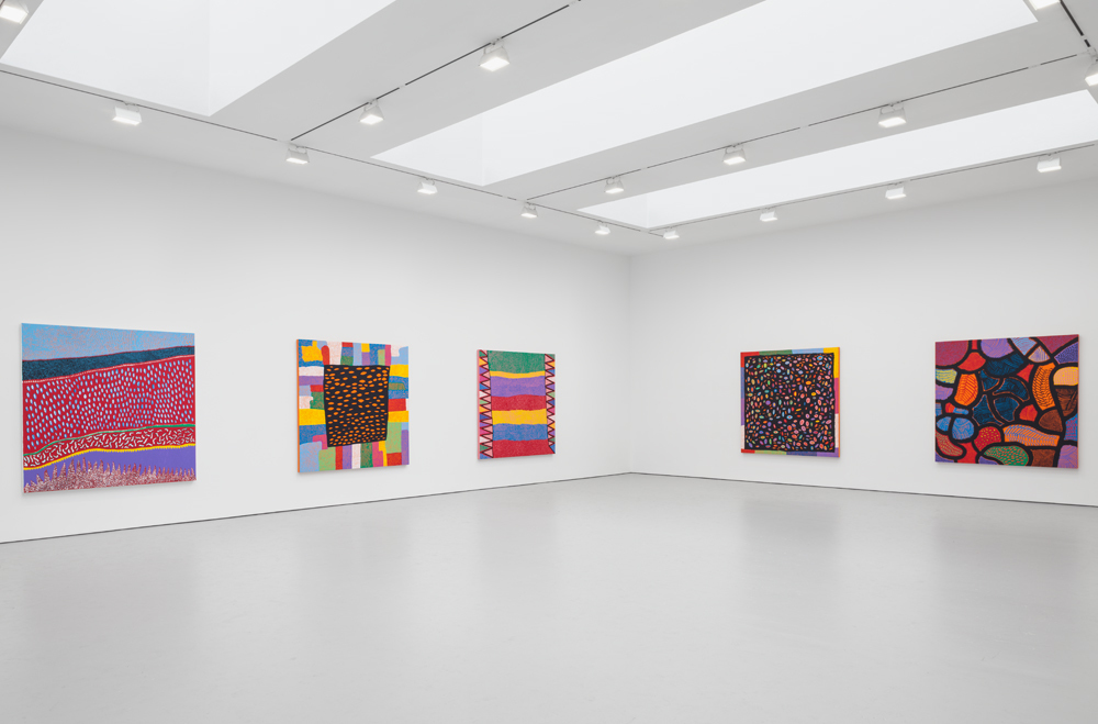 Installation view,   Give Me Love  , David Zwirner