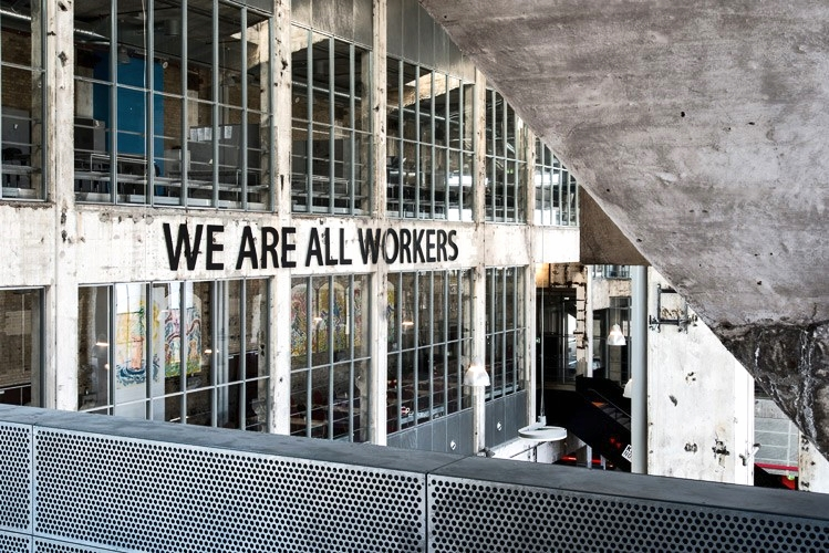 Installation view, We are all workers, Kunsthal Nord