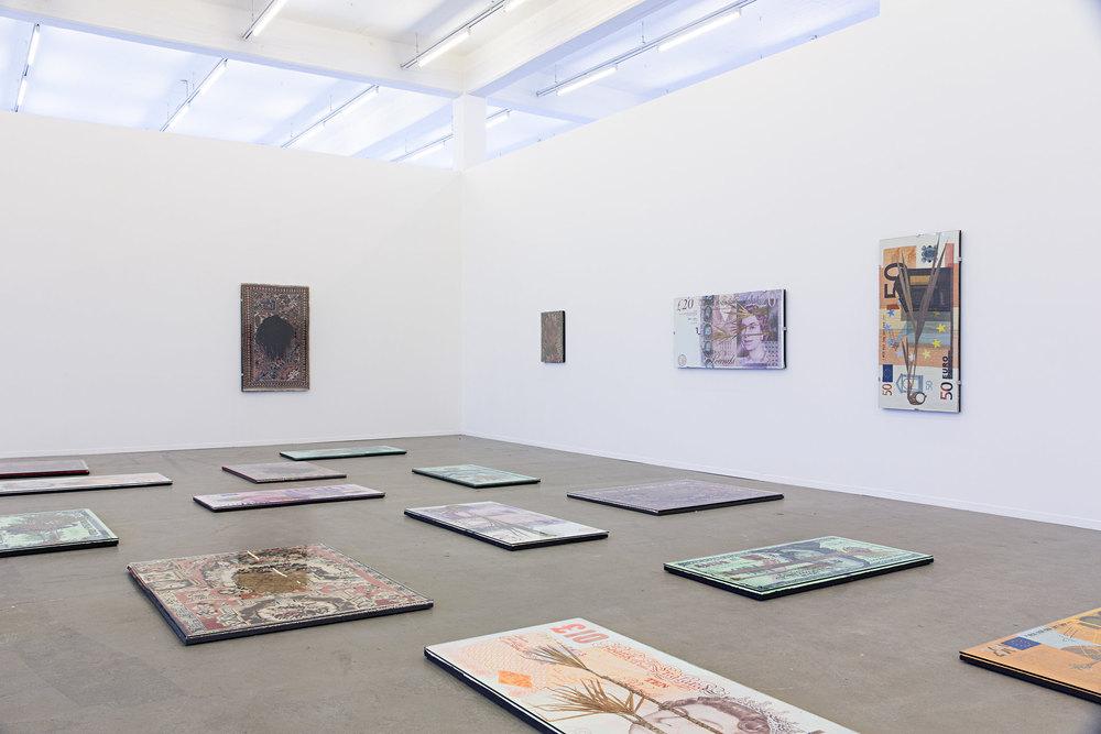 Installation view,  Cash for Gold , Kunstverein Hamburg