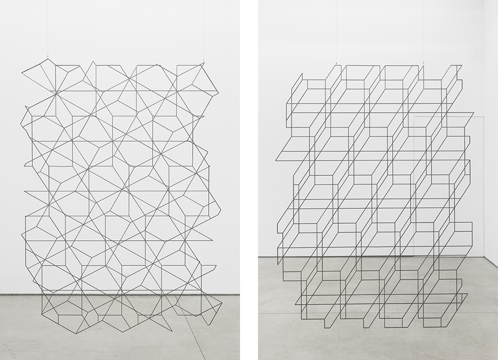 Installation view, Another point in the same line and three points that don´t belong to the same line, Múrias Centeno