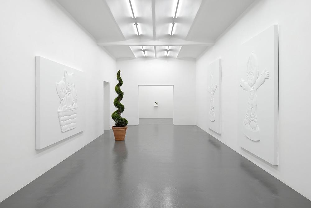 Installation view,De Beauvoir Crescent, T293