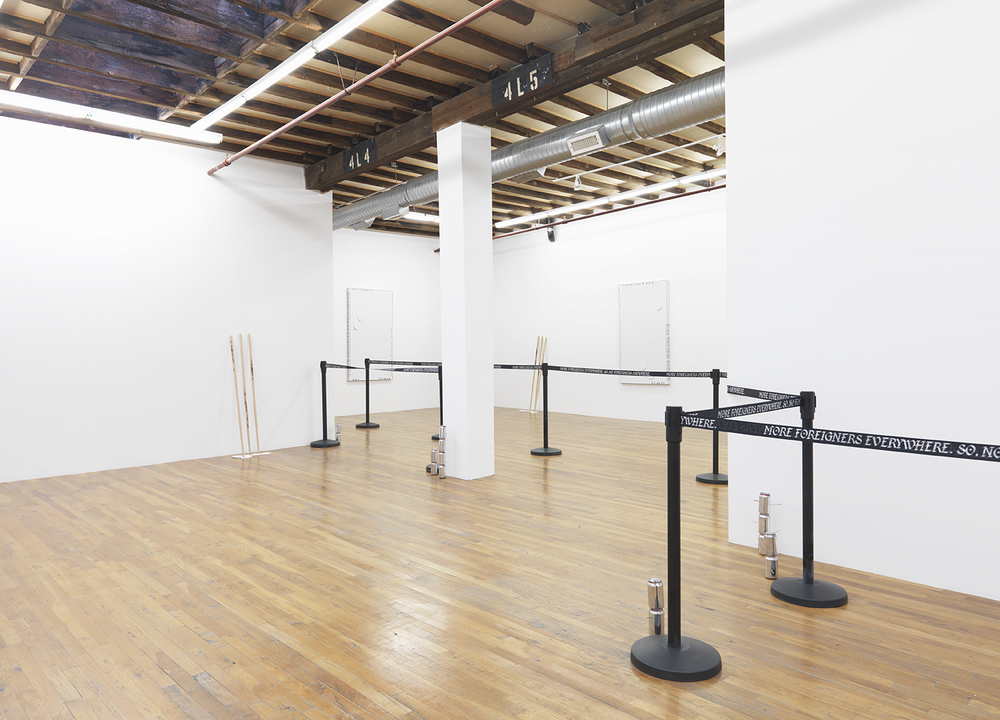 Installation view, If You See Something, See Something., The Still House Group