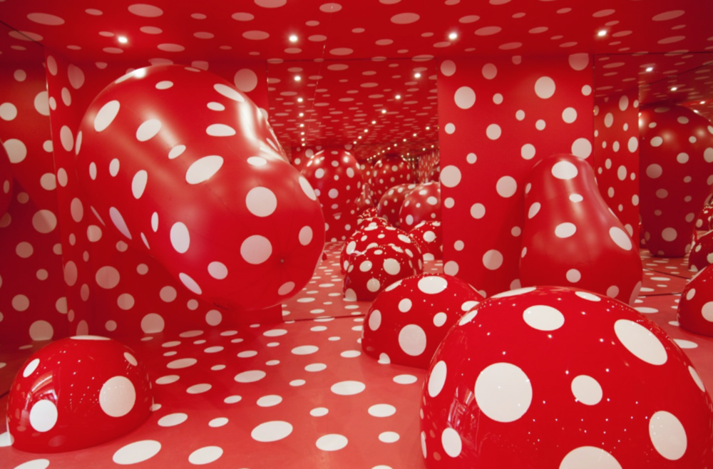 Installation view, Yayoi Kusama: Infinity Theory, Garage Museum of Contemporary Art