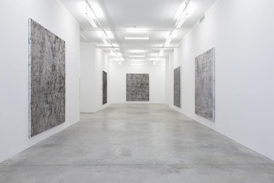 Installation view, Garth Weiser, Casey Kaplan Gallery