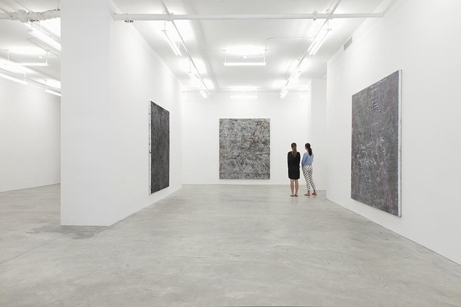 Installation view,Garth Weiser, Casey Kaplan Gallery