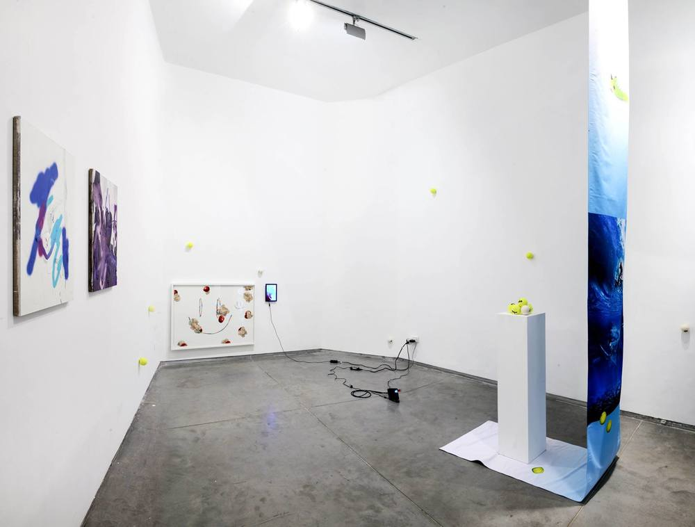 Installation view, Sticky Bumps, Sommer Contemporary Art