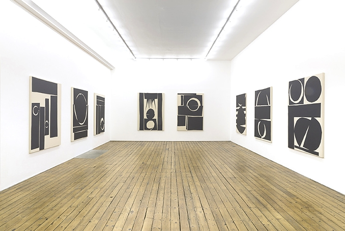 Installation view, Rites, The Approach