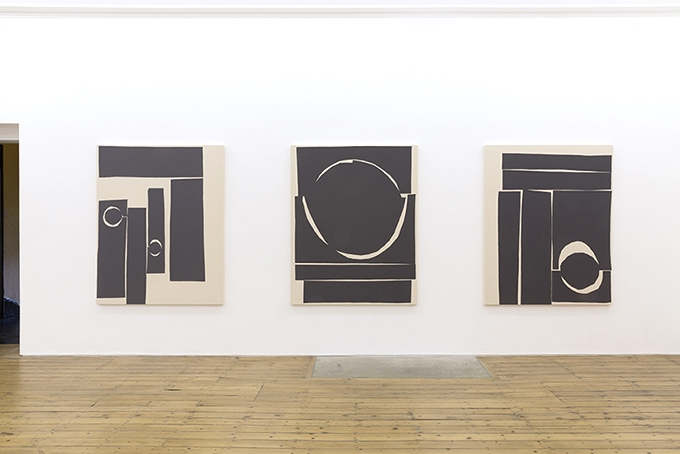 Installation view,Rites, The Approach