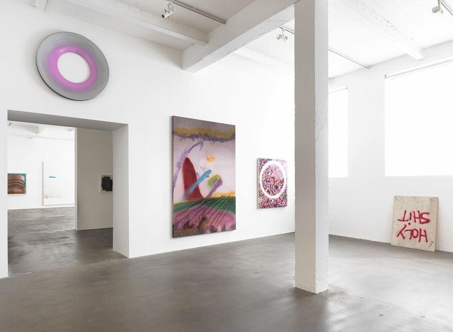 Installation view,Sprayed, Gagosian Gallery