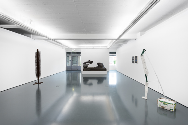 Installation view, this strange, ubiquitous and relentless place we call memory, Galeria Pedro Cera