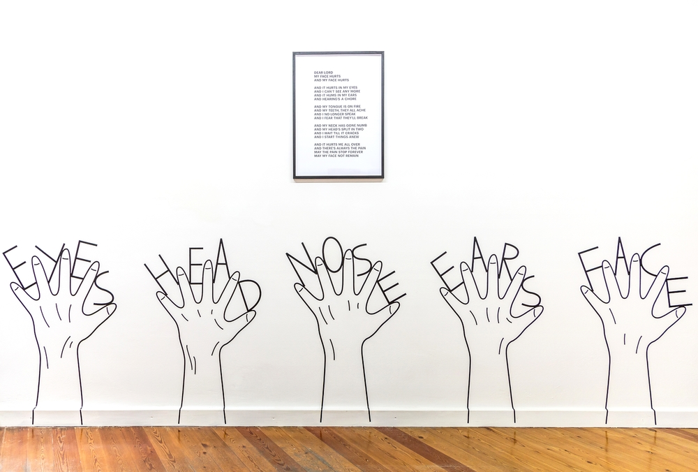 Honza Zamojski,  Untitled (Hands) , 2015