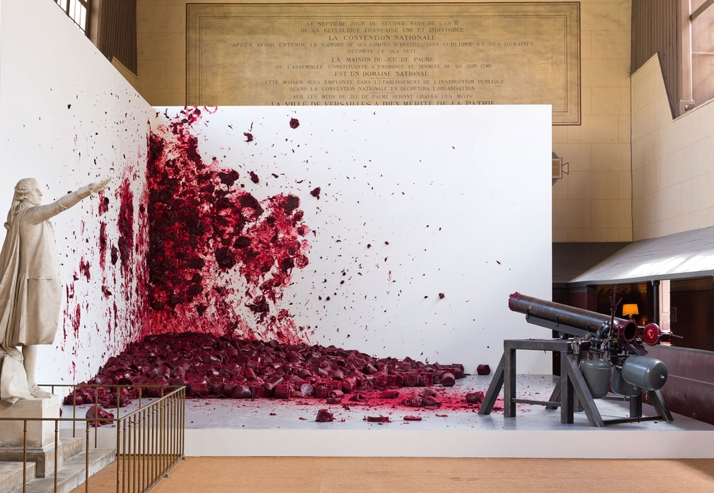 Anish Kapoor,  Shooting into the corner , 2008-2009