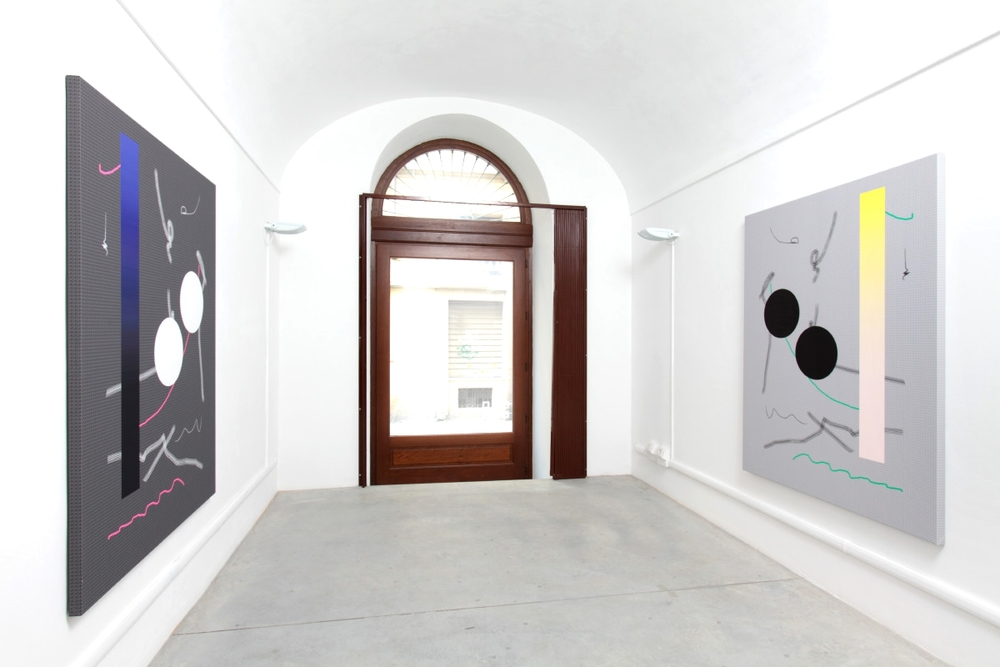 Installation view,  From Off to On , Neochrome Gallery
