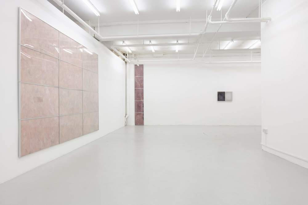 Installation view, Pope Swamp, Kinman Gallery (London)