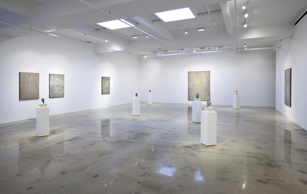 Installation view, Solid State, Steve Turner