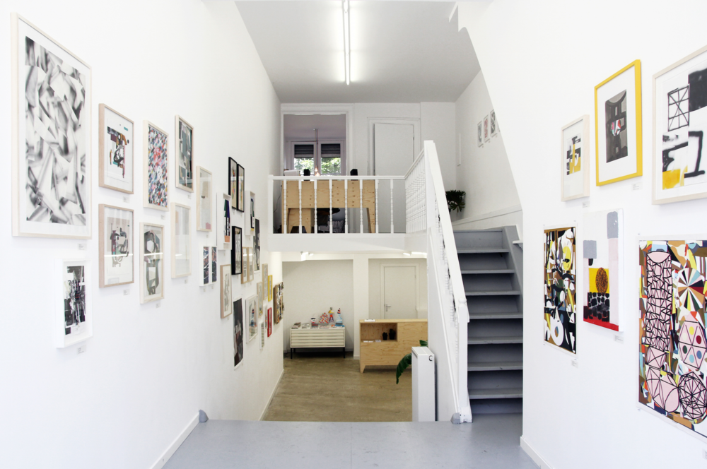 Installation view, Col.la.ge II, Mini Galerie