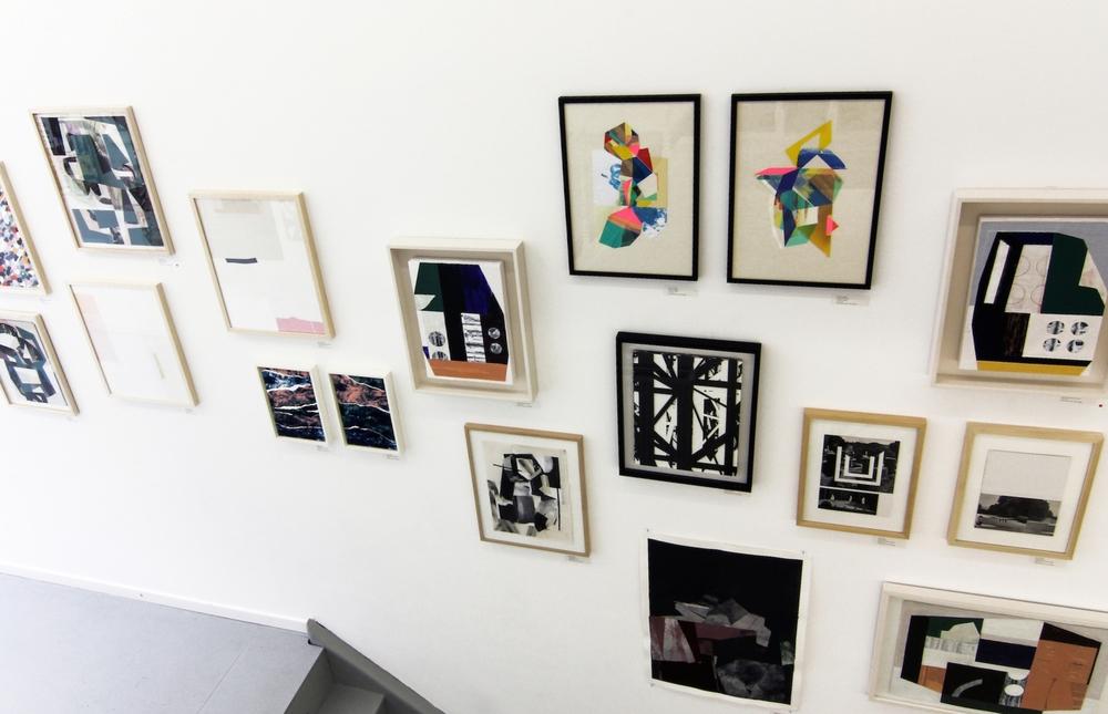 Installation view,Col.la.ge II, Mini Galerie