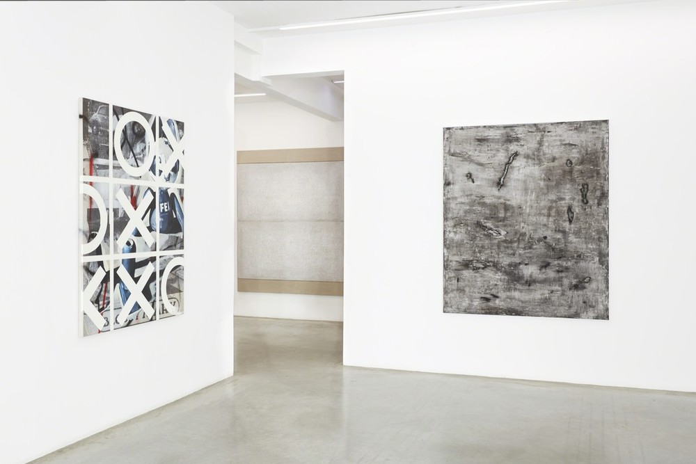 Installation view, Hashtag Abstract, Ranching Gallery