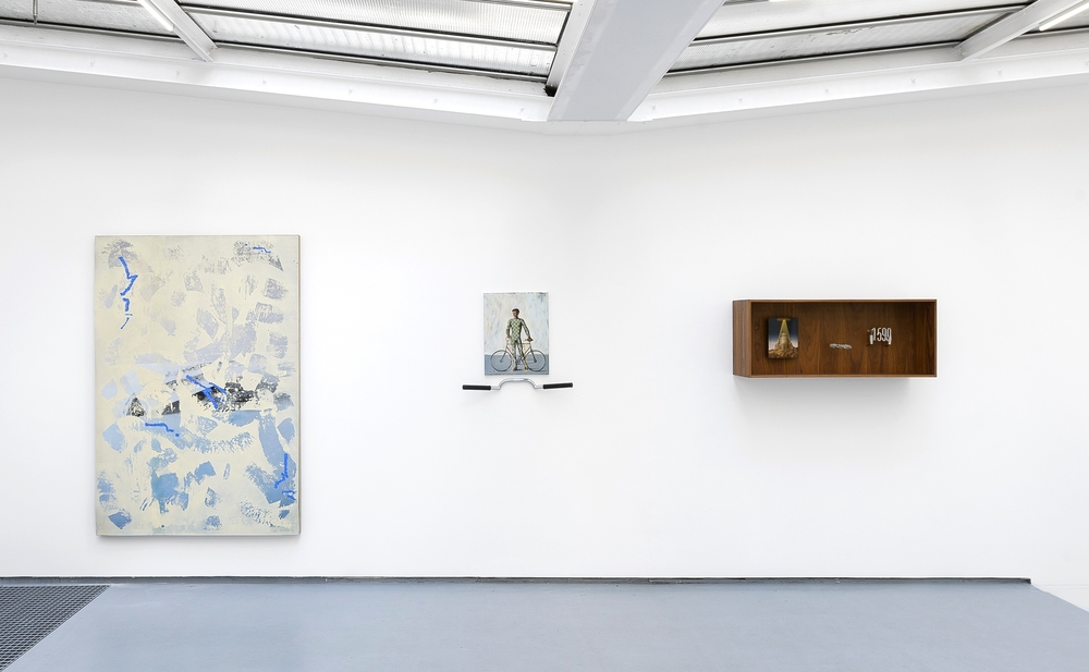 Installation view,  To rectify a situation , Galerie Valentin, Paris
