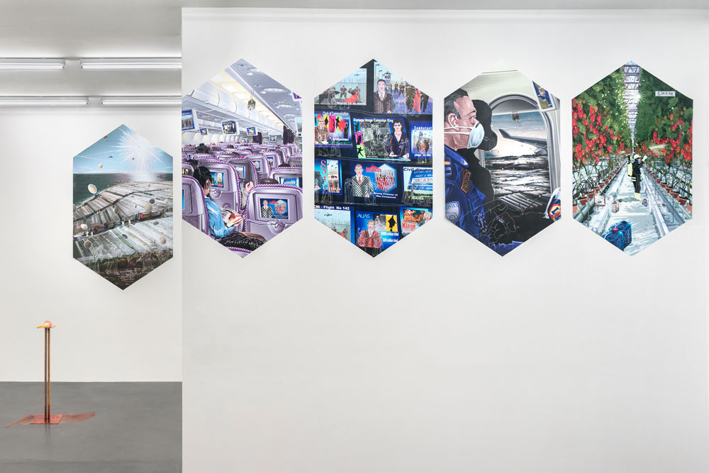 Installation view,  Hundstage , Croy Nielsen