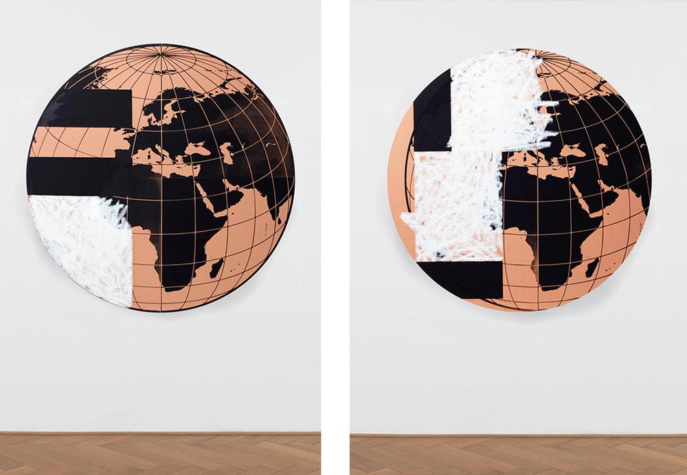 Bryan Dooley, Wolrd Grid #1 & #2, 2015