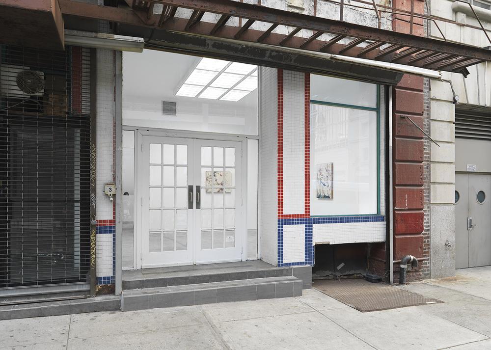 Outside view,Landmark Press, Howard St