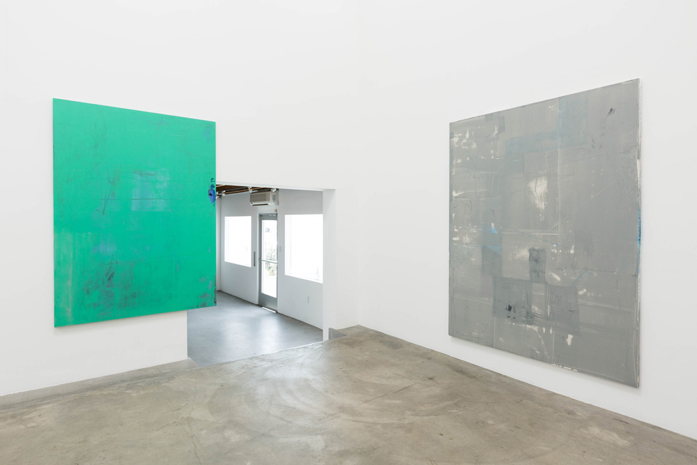 Installation view, Unplugged (7 Works), Anat Ebgi Gallery
