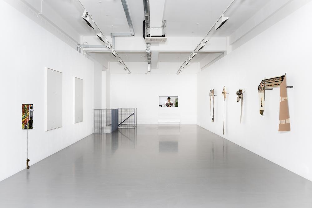 Installation view, No shadows in hell, Pilar Corrias