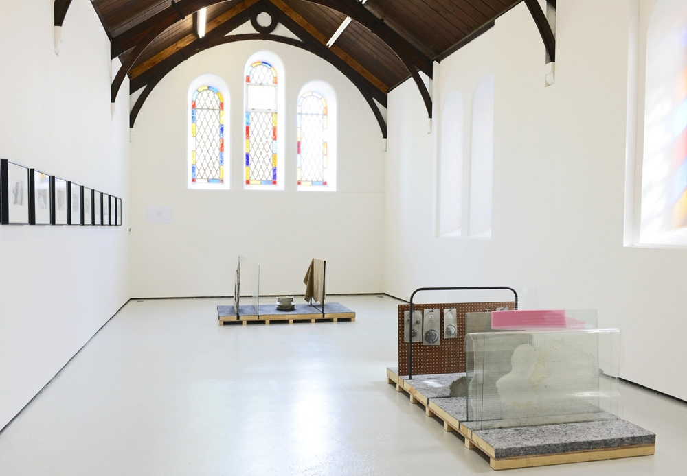 Installation view, The persistence of Objects, Lismore Castle Arts