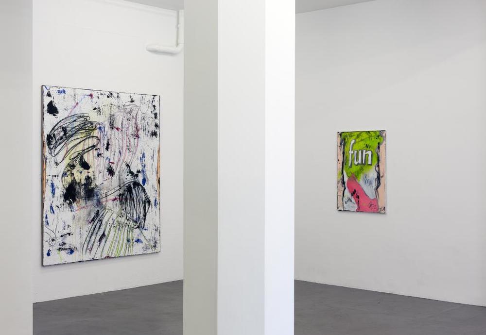Installation view,  Dirt Club , Boltelang Gallery