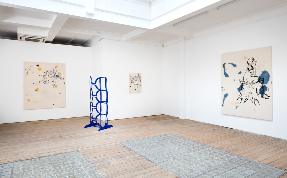 Installation view, Stump Lunch, Ibid. London