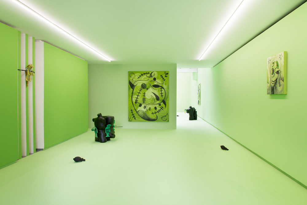Installation view,  Poison IV , Valentin Paris