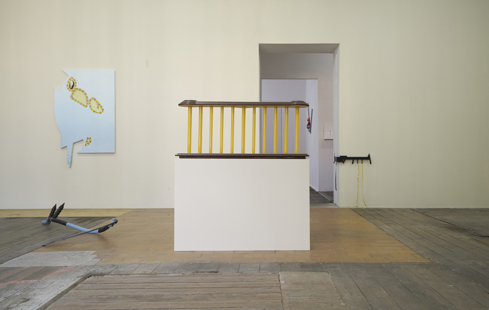 Installation view, Landlords, monChéri