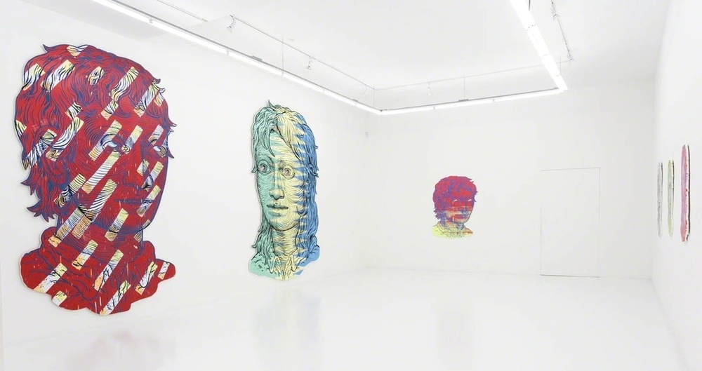 Installation view, Stoic Youth, The Hole NYC